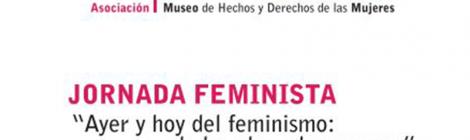 """Jornada Feminista: """"Ayer y hoy del feminismo: de las olas a las mareas""""Jornada Feminista: """"Ayer y hoy del feminismo: de las olas a las mareas"""""""