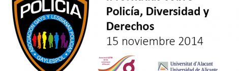II JORNADAS sobre POLICÍA, DIVERSIDAD y DERECHOSII JORNADES sobre POLICIA, DIVERSITAT y DRETS